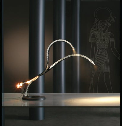 Lumina Italia Ra Desk Lamp is Like a Robotic Two-Headed Cobra