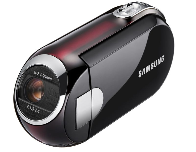 Aliens Would Use Samsung SMX-C14 and SMX-C10 to Shoot Their Home Movies