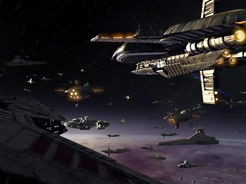 Space Battle Wallpapers to Cover Your Desktop in Glory