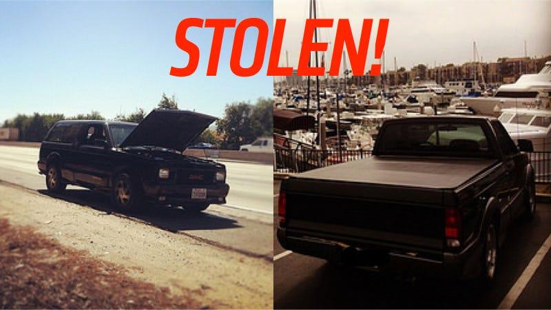 Help Find These Stolen Modern Classic GMC Trucks