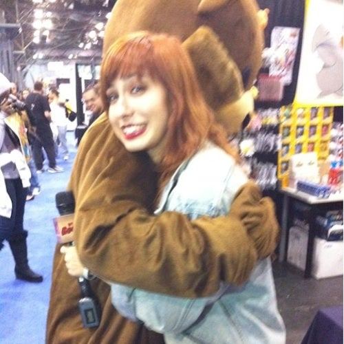 Dangerous Pedophile Mascot Pedobear Spotted at New York Comic Con! (Updated)