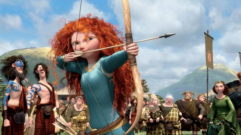 Brave Is the Latest Movie About Adolescent Female Archers to Become Number One at the Box Office
