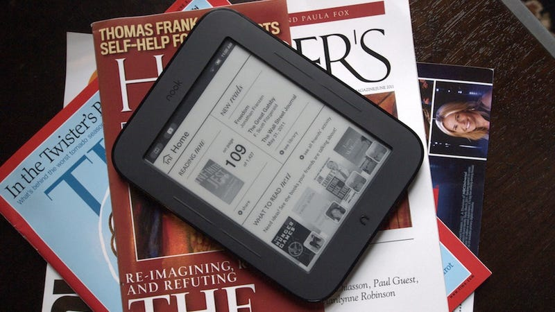 Barnes and Noble Simple Touch Nook Review: The E-Reader You Want