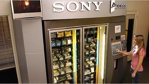 Sony Vending Machines