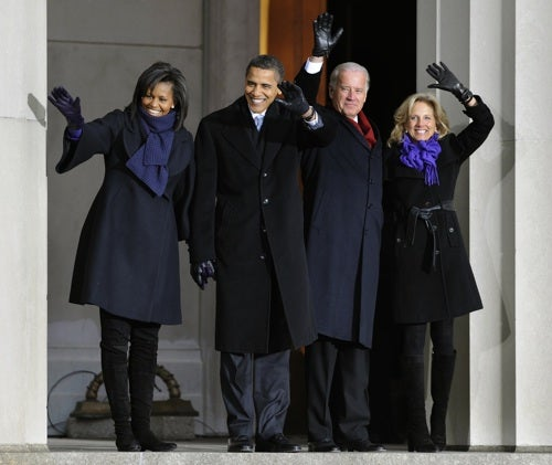 The Obamas And The Bidens: Future First Families