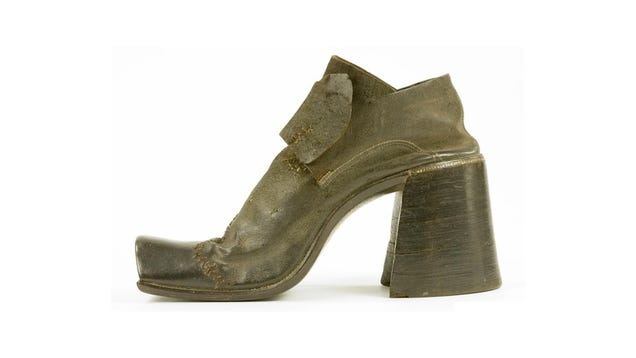 16th Century Shoes From The Late 16th Century