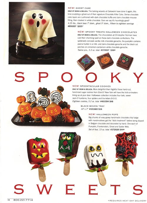 Halloween In 2-D Looks Frighteningly Delicious