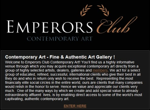 The Emperors Club Whored Artists, Too