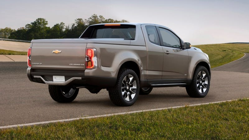 The new Chevrolet Colorado will look like this hot concept