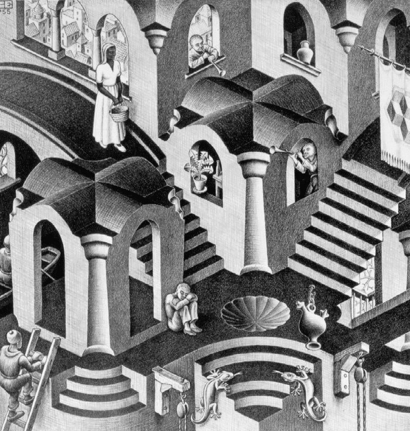 Escher-like Games - a Trippy New Movement in Game Design?