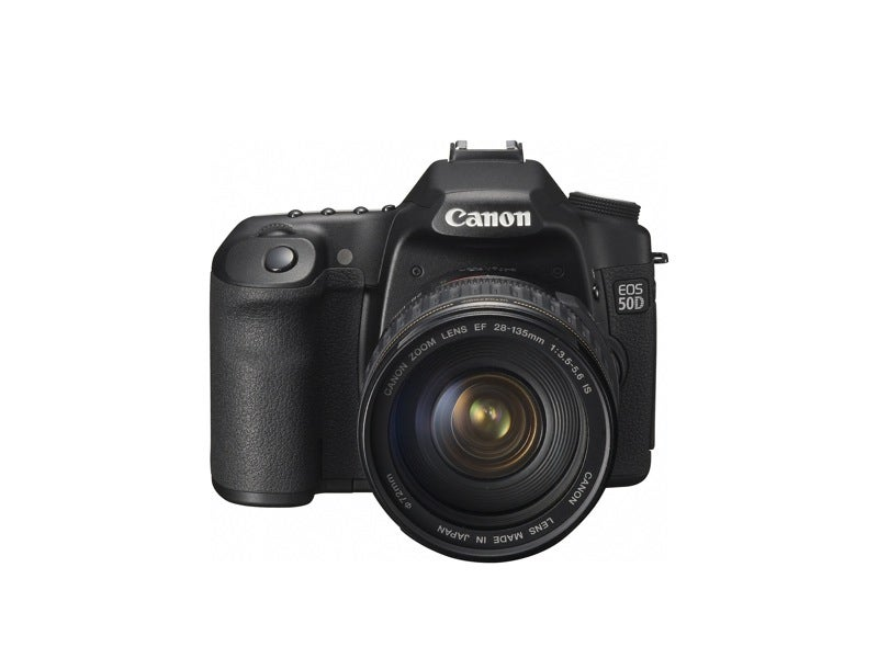 Canon EOS 50D Official: 15-Megapixel Prosumer DSLR Is First With Digic 4 Processor