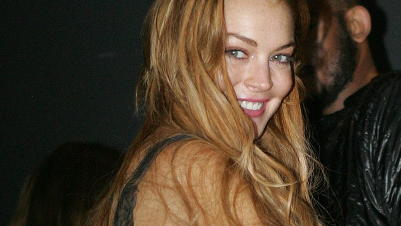 Of Course Lindsay Lohan's Being Accused of Partying All Night