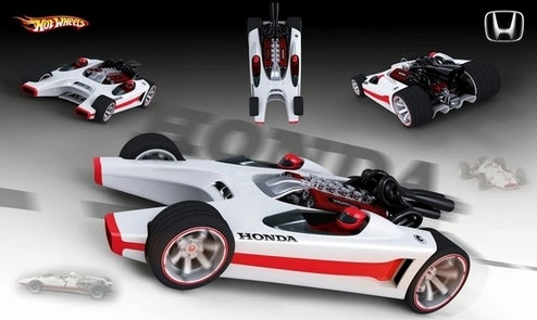 Honda Racer Hot Wheels Toy Is Whacky, Real Whacky