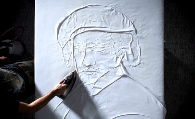 These Art Pieces Made By Ironing Are Incredible
