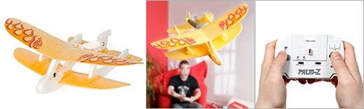 Palm Z Micro R/C Dogfighting Bi-Plane