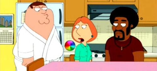 OS X's Spinning Beach Ball Makes Family Guy Cameo