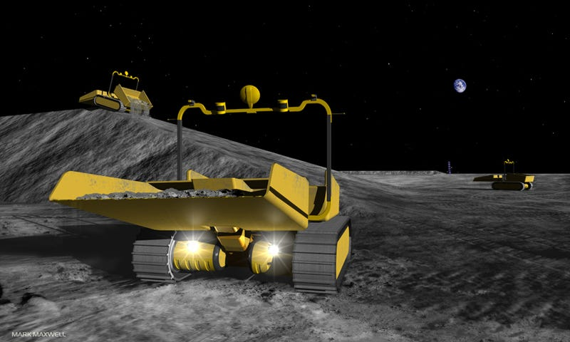 Robots May Prepare Ground for NASA Moon Base, Discover Hidden Nazis