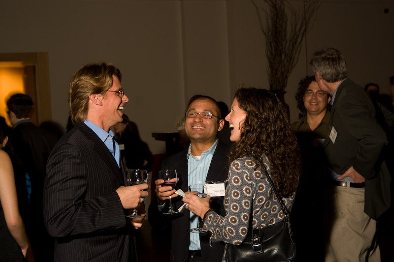 At OutCast CEO Dinner, Robert Scoble greeted us warmly