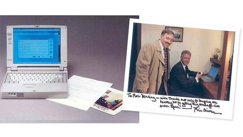 You Can Own the Laptop That Sent the First Presidential Email