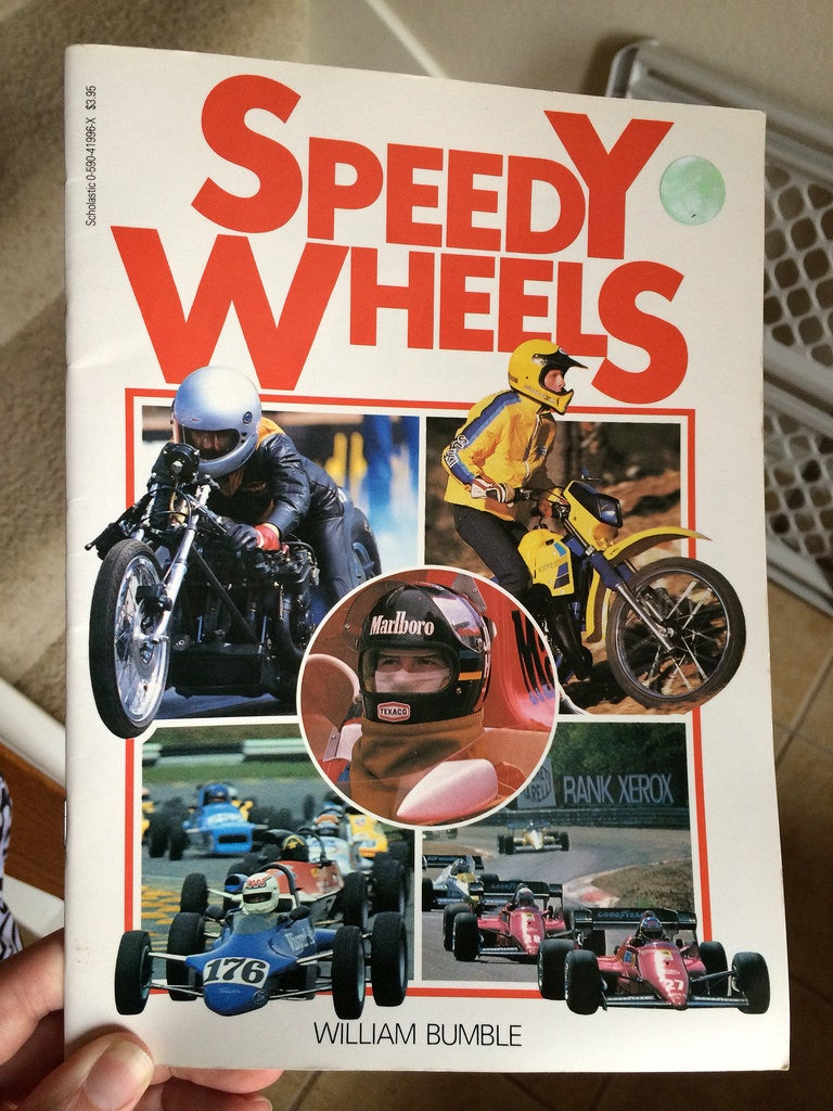SPEEDY WHEELS - copyright 1988