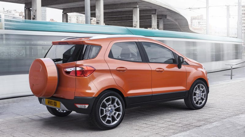 The EcoSport Is Ford's Smallest European SUV