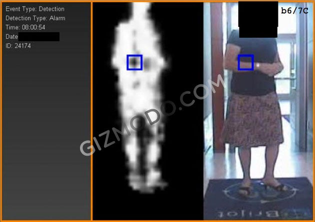 body scanner pic gallery