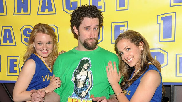 screech confesses to using a stunt wang in porn is may