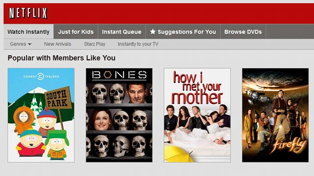 Add Keyboard Shortcuts to Netflix's Web Interface
