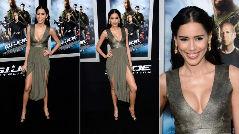 Dashing Dudes and Dresses That Make No Sense at the G.I. Joe Premiere