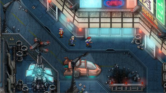 Indie Sci-Fi RPG Looks Pretty Great
