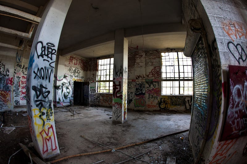 Canada's abandoned structures are an urban explorer's playground