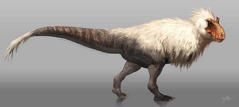 Now THIS Is a Badass Feathered Tyrannosaurus Rex