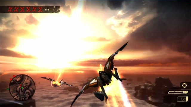 Starhawk is the Sequel to Warhawk. There are Transforming Fighters.