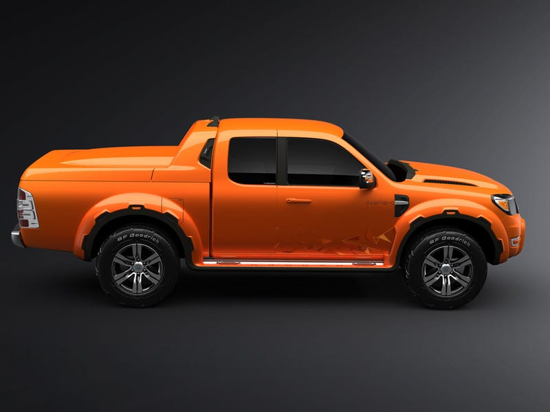 Ford Ranger Max Concept Inspired By Power Tools