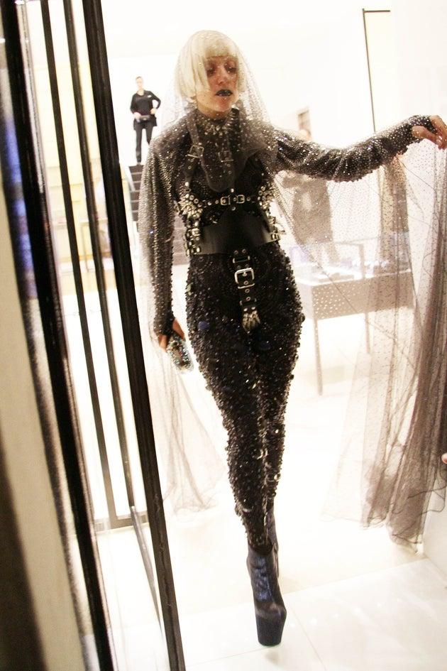 Gaga Scissorhands Goes Shopping