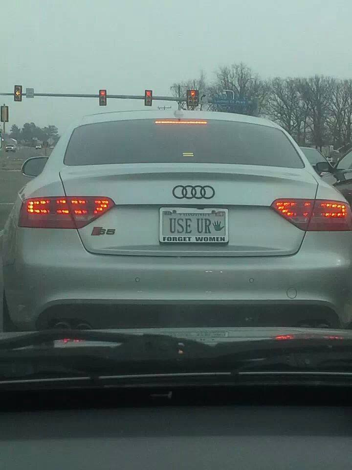 This Audi S5 Driver Has Woman Issues