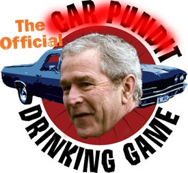 The Official Car Pundit Drinking Game: And Now For Something Completely Different
