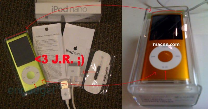 The Mystery of iPod Nano Spy Photos