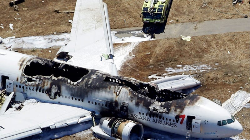 Fire Truck May Have Run Over Asiana Airlines Crash Victim