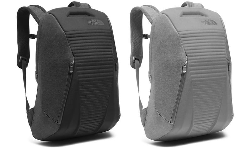The North Face's New Backpack Pops Wide Open With a Button Push For Easy Stuffing