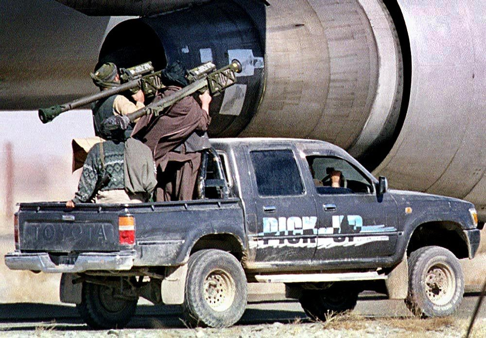 Have The Taliban Abandoned Toyotas For American Pickup Trucks