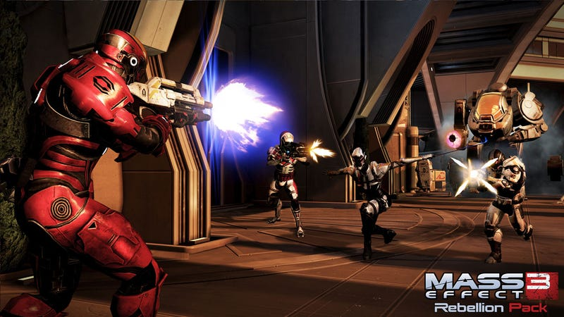 Mass Effect 3's Free Rebellion Pack Drops Next Week