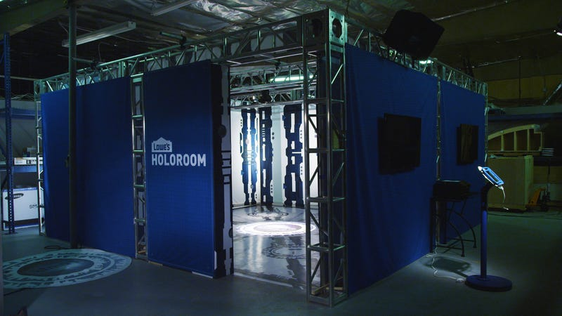 Lowe's Is Putting (Kinda Sorta) Holodecks In Some of Its Stores