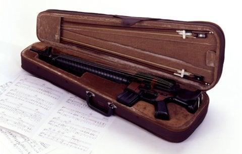 Machine Gun Violin
