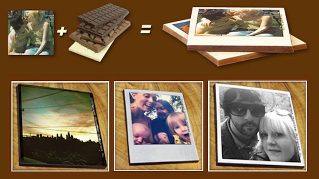 Holy Crap It's Edible Instagram For Chocolate