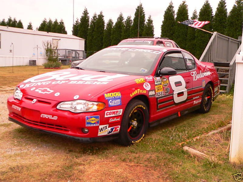 2004 Earnhardt Jr. Tribute Chevy Monte Carlo for $15,000!