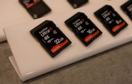 Sandisk 32GB SDHC Eats HD Video For Breakfast