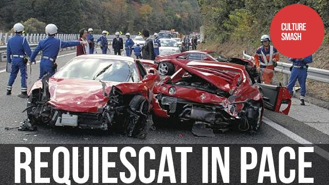 Jackasses Destroy a Fleet of Ferraris