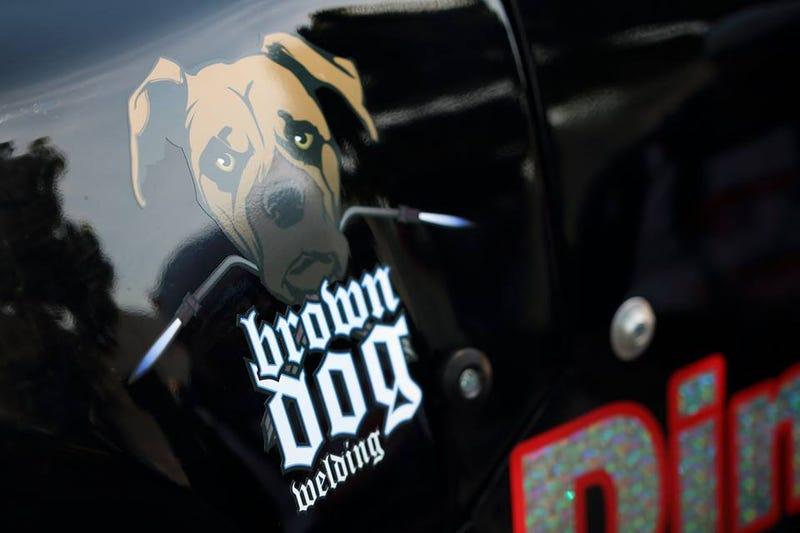 Brown Dog on a Super Stadium truck(!) Detroit guy tears up Belle Isle