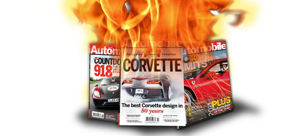 Automobile Magazine Cuts Staff And Fires Editor